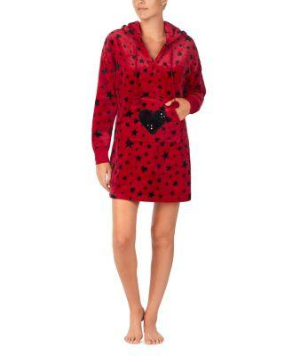Steve Madden Cozy Time Plush Tunic Red