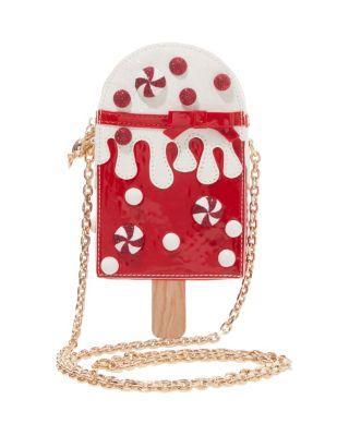 Steve Madden Kitsch Peppermint Pop Crossbody Red