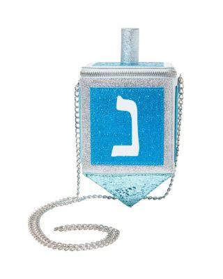 Steve Madden Kitsch Mazel Dreidel Crossbody Blue