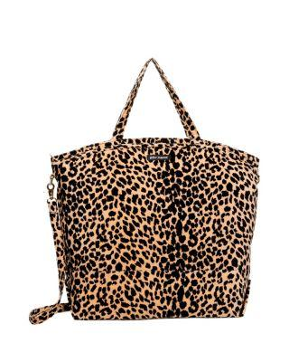 Steve Madden Prowlin Around Large Weekender Natural