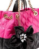 Steve Madden Be My Better Half Shopper Black/pink