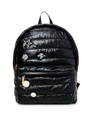 Steve Madden Picture Puff-ect Betsey Backpack Black