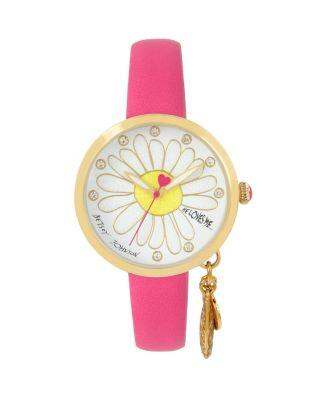 Steve Madden He Loves Me Dangle Pink Watch Pink
