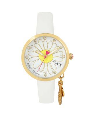 Steve Madden He Loves Me Dangle White Watch White