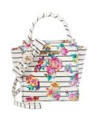 Steve Madden Petal To The Metal North South Tote Floral