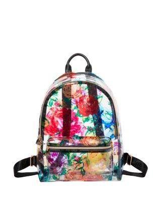 Steve Madden Clearly Floral Backpack Multi