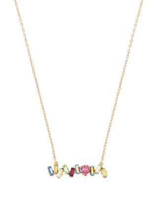 Steve Madden Summer Minis Bar Necklace Multi