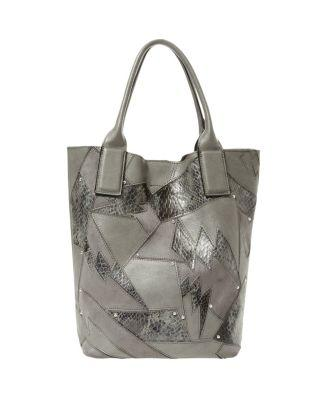 Steve Madden Shock It To Me Tote Grey
