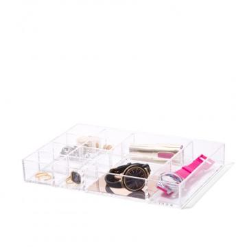 Isaac Jacobs 12-section Stackable Tray