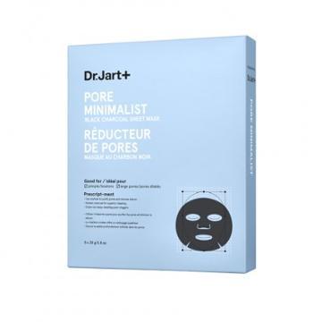 Dr. Jart+ Pore Minimalist Black Charcoal Sheet Mask 5x