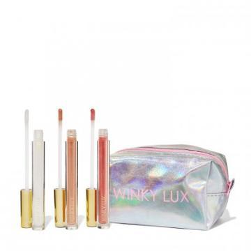 Winky Lux Glazed Lips Donut Lip Gloss Trio