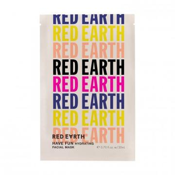 Red Earth Have Fun Hydrating Facial Mask - 6 Pack