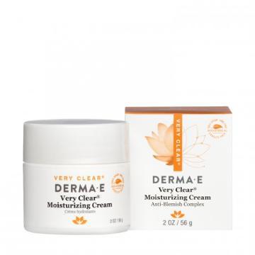 Derma E Very Clear Moisturizing Cream