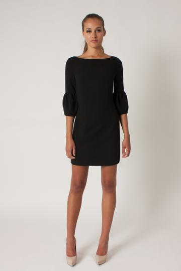 Black Halo Mooreland Mini Dress In Black, Size 10