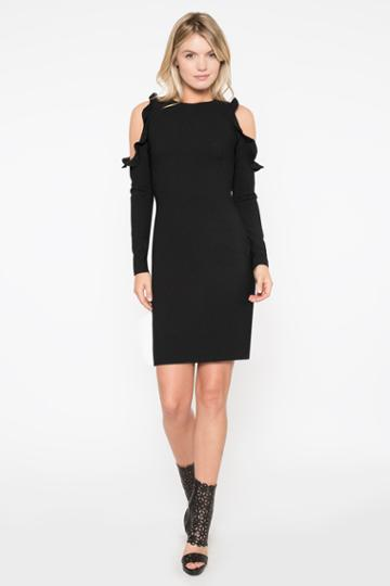 Black Halo Rocco Sheath Dress In Black, Size 0