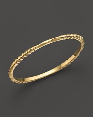 Lagos 18k Gold Stacking Ring