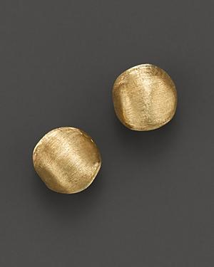 Marco Bicego Africa Collection 18k Yellow Gold Round Stud Earrings