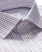 Eton Of Sweden Graphic Check Regular Fit Dress Shirt