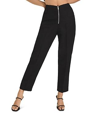 Reiss Cally Zip Front Trousers