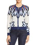 Tory Burch Sawyer Floral Cardigan