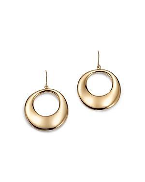 Bloomingdale's Round Drop Earrings In 14k Yellow Gold - 100% Exclusive