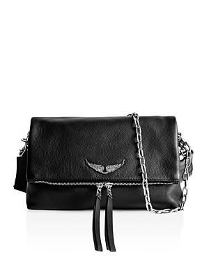 Zadig & Voltaire Rocky Pebbled Leather Crossbody
