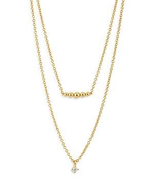 Ajoa By Nadri Dolly Dot Double Chain Necklace, 16