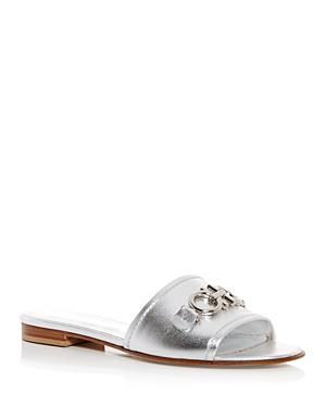 Salvatore Ferragamo Women's Rhodes Slide Sandals
