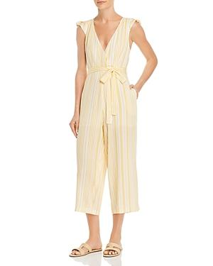 Sage The Label Summer Years Striped Jumpsuit