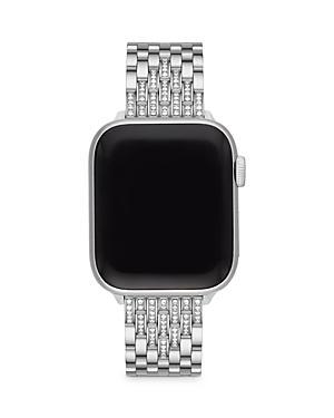 Michele Apple Watch Diamond Stainless Steel Interchangeable Bracelet, 38-42mm