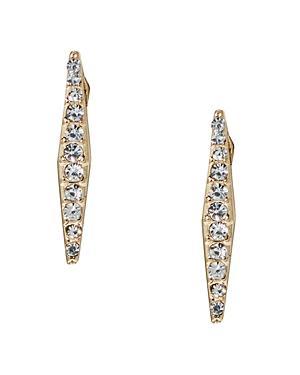 Abs By Allen Schwartz Bar Stud Earrings