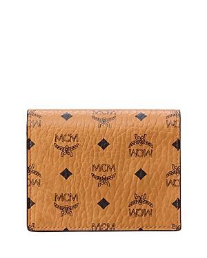 Mcm Visetos Mini Bifold Wallet