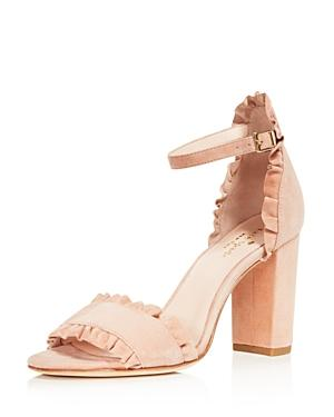 1e69f44a54ce Kate Spade New York Women s Odele Suede High Heel Sandals