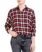 The Kooples Centella Plaid Shirt
