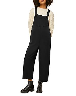 Whistles Easy Cropped Overalls