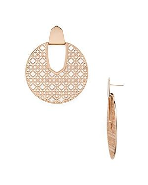 Kendra Scott Diane Latticework Medallion Drop Earrings