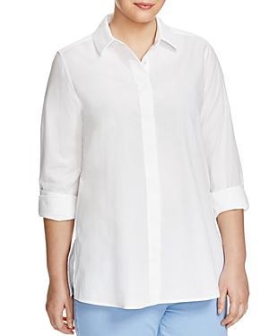 Marina Rinaldi Plus Bagatto Button-down Shirt