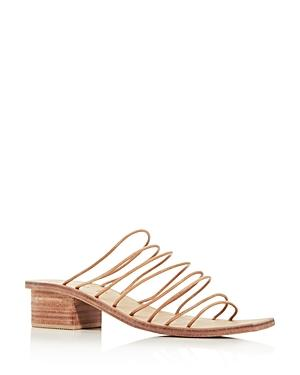 St. Agni Women's Ines Strappy Square-toe Sandals