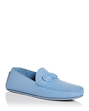 Salvatore Ferragamo Men's Tonal Moc Toe Drivers