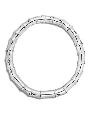 John Hardy Sterling Silver Bamboo Necklace, 18