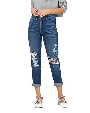 Flying Monkey Distressed Relaxed Fit Jeans (55% Off) - Comparable Value $89