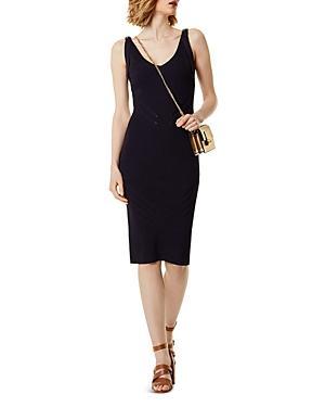 Karen Millen Rib-knit Body-con Dress