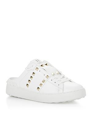 Valentino Garavani Women's Pyramid Studded Slip On Sneakers