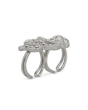 The Kooples Snake Double Open Ring
