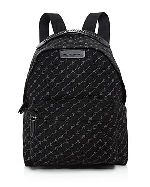 Stella Mccartney Eco Nylon Logo Backpack