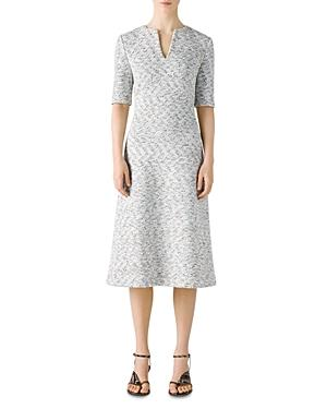 St. John Binario Tweed Dress
