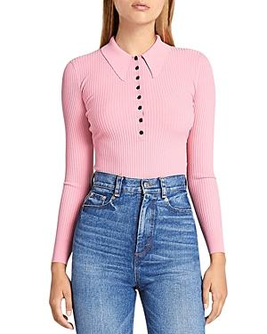 A.l.c. Lance Collared Top