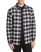 Velvet Brennon Plaid Fleece Lined Regular Fit Shirt Jacket