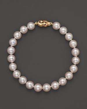 Tara Pearls Akoya Cultured Pearl Bracelet, 7.5mm