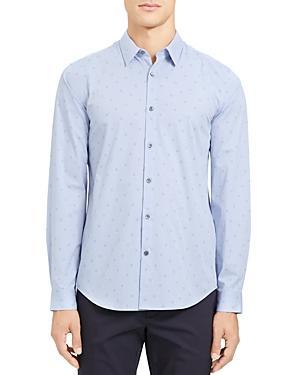 Theory Irving Circuit Slim Fit Shirt